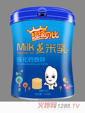 超级贝比蒸米乳强化钙铁锌