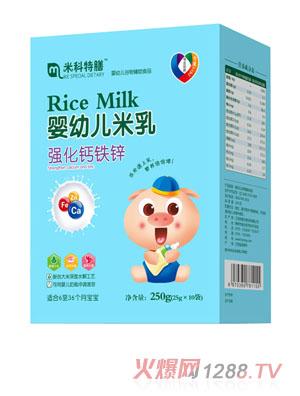 米科特膳婴幼儿米乳-强化钙铁锌盒装