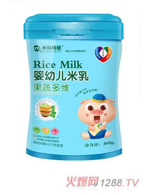 米科特膳婴幼儿米乳-果蔬多维桶装