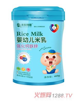 米科特膳婴幼儿米乳-强化钙铁锌桶装