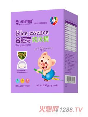米科特膳金胚芽纯米精盒装