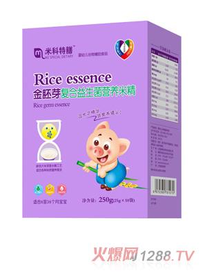 米科特膳金胚芽复合益生菌营养米精盒装