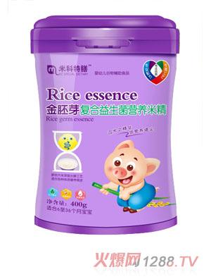 米科特膳金胚芽复合益生菌营养米精桶装