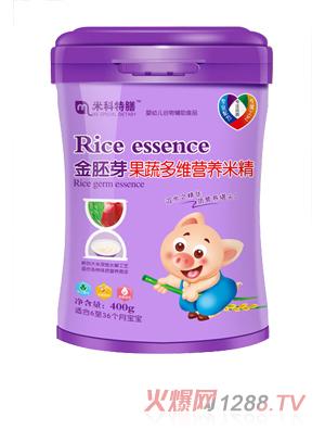 米科特膳金胚芽果蔬多维营养米精桶装