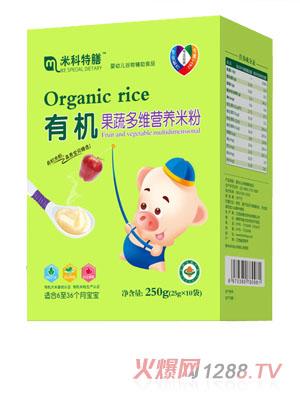 米科特膳有机果蔬多维营养米粉盒装