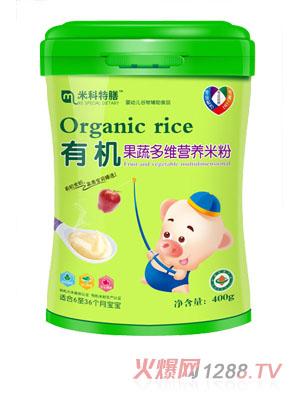 米科特膳有机果蔬多维营养米粉桶装