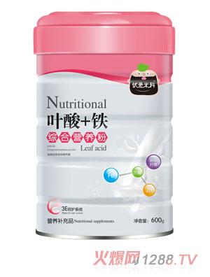 优爱米科叶酸+铁综合营养粉