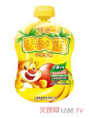 恬达果肉泥-苹果香蕉