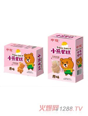 中毅小熊蛋糕-原味