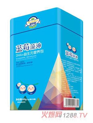 诺贝塔蓝莓藻油DHA+益生元营养包