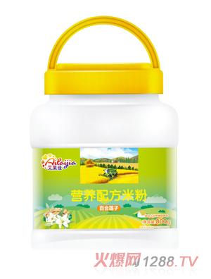 艾莱佳百合莲子营养配方米粉