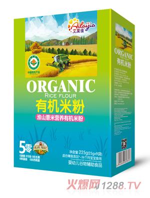 艾莱佳淮山薏米营养有机米粉盒装