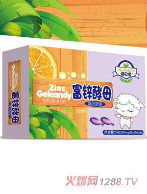 诺贝塔富锌酵母凝胶糖果(鱼型)
