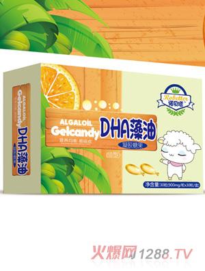诺贝塔DHA藻油凝胶糖果(鱼型)