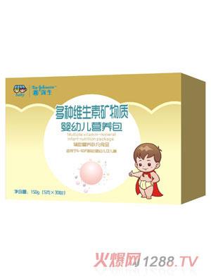 鑫强生多种维生素矿物质婴幼儿营养包(盒装)