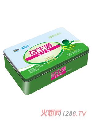 鑫强生益生菌乳锌粉(铁盒装)