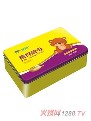 鑫强生富锌酵母凝胶糖果(铁盒装)