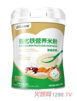 智雅强化铁营养米粉-果蔬多维罐装
