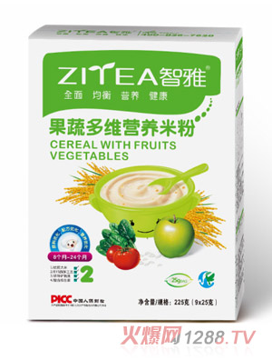 智雅果蔬多维营养米粉盒装