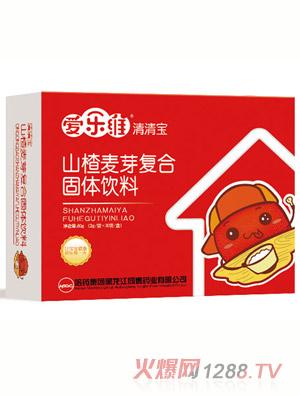 爱乐维清清宝山楂麦芽复合固体饮料