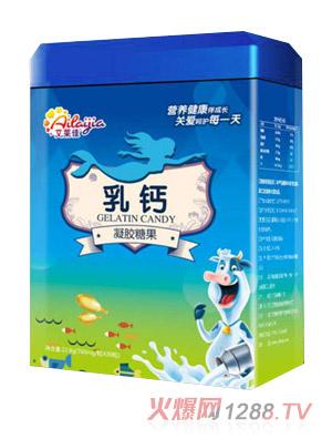 艾莱佳乳钙凝胶糖果