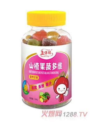 康保聪山楂果蔬多维营养软糖