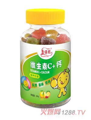 康保聪维生素C+钙营养软糖