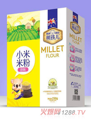 熊孩儿小米米粉-原味盒装