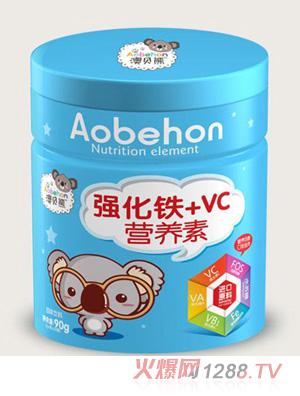 澳贝熊强化铁+VC营养素