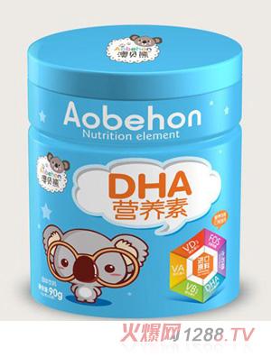 澳贝熊DHA营养素