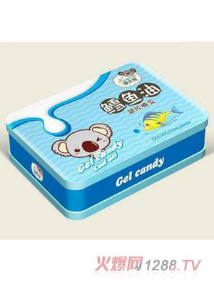 澳贝熊鳕鱼油凝胶糖果