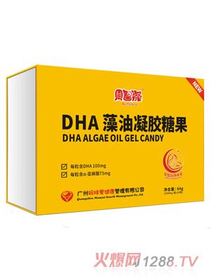 贝智深妈咪爱DHA藻油凝胶糖果(礼盒装)
