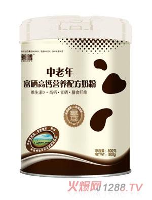 善普中老年富硒高钙营养配方奶粉