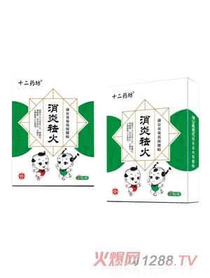 十二药坊消炎祛火蒲公英菊花保健贴
