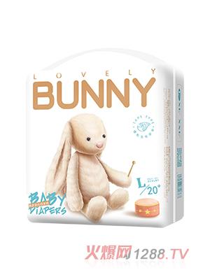 邦尼兔绵柔安抚纸尿裤L20