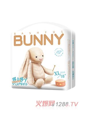 邦尼兔绵柔安抚纸尿裤XL18