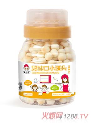 果蔬妃药食同源果蔬小馒头-蛋黄味