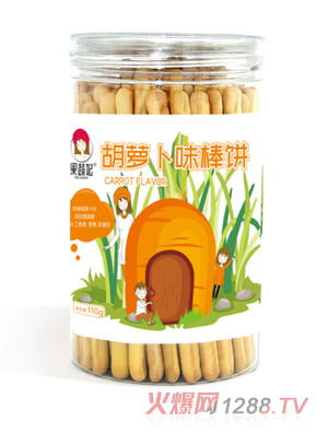 果蔬妃原汁果蔬棒饼-胡萝卜味
