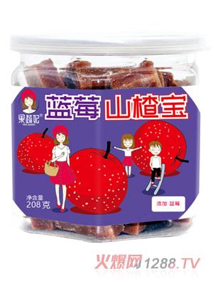 果蔬妃原汁蓝莓山楂宝