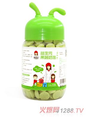 果蔬妃益生元果蔬奶泡-菠菜味