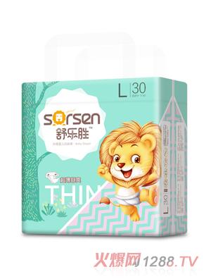 舒乐胜环腰婴儿纸尿裤小包L30