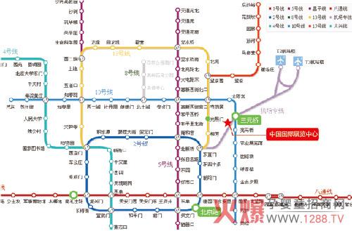 北京地铁线路