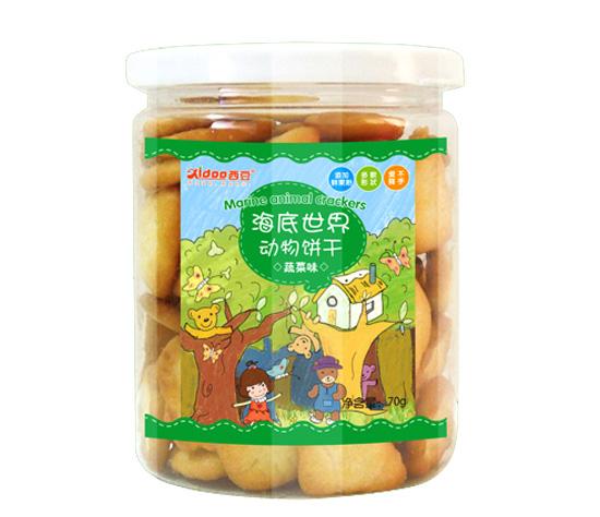 西豆蔬菜海底世界动物饼干